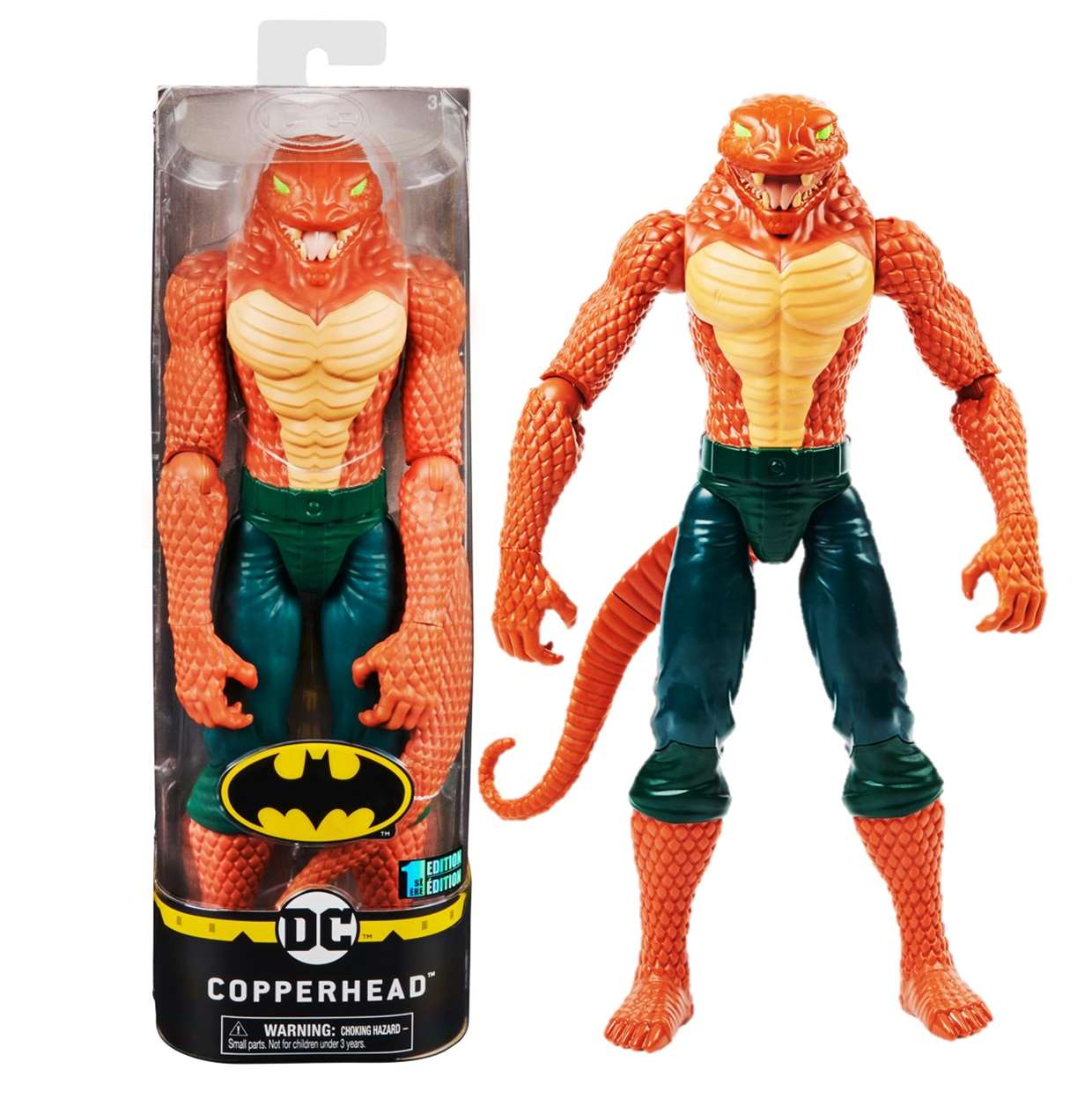 Copperhead 1st Edition Figura The Caped Crusader Spin Master