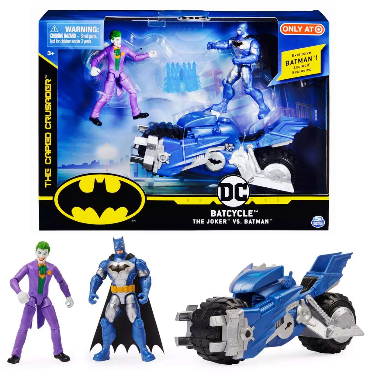 Batcycle The Joker Vs Batman The Caped Crusader Exclusivo  Only Target