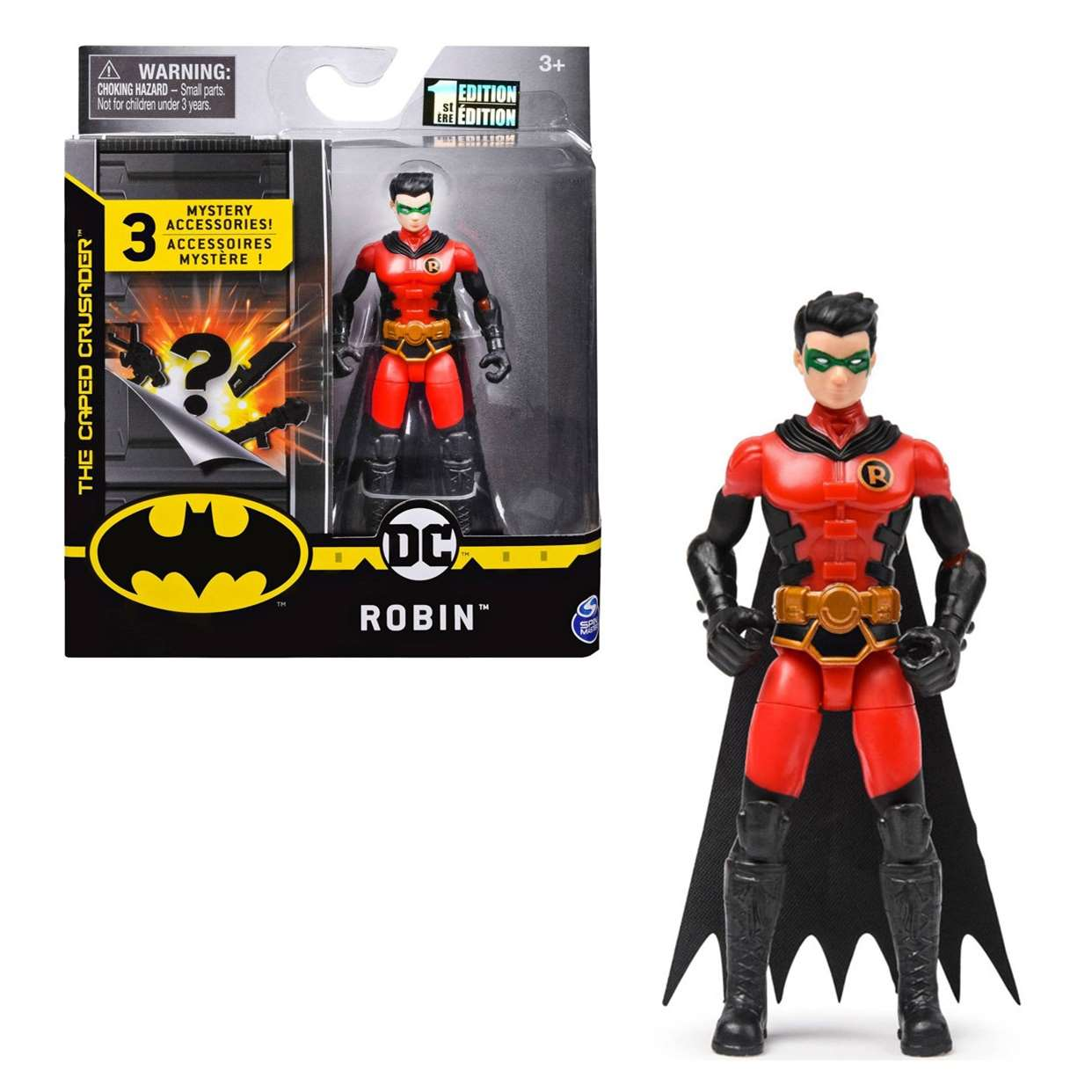 Robin 1er Edition Figura Batman The Caped Crusader 3 PuLG