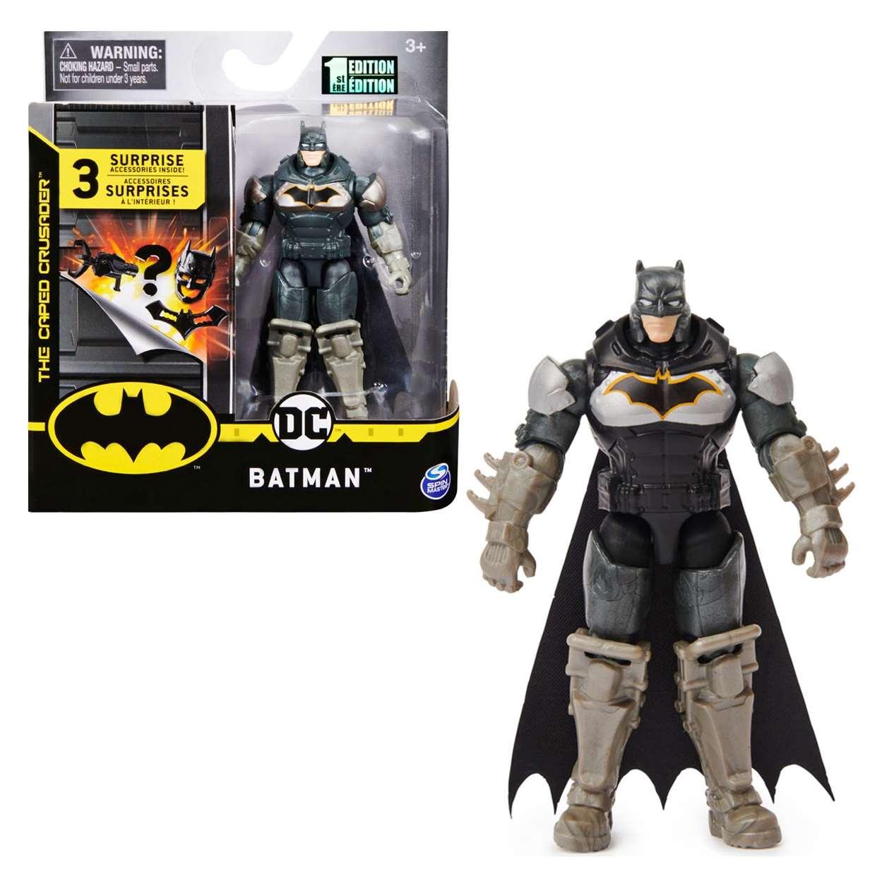 Batman Armor 1st Edition Figura The Caped Crusader 3 PuLG