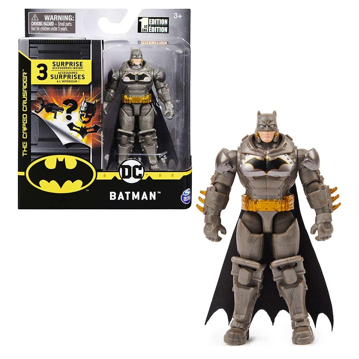 Batman Armor Gray Figura The Caped Crusader Spin Master