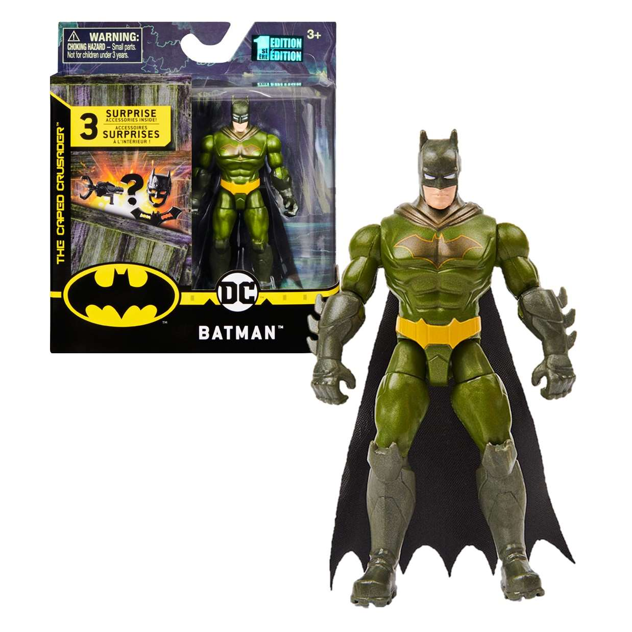 Batman Armor 1st Edition The Caped Crusader Spin Master