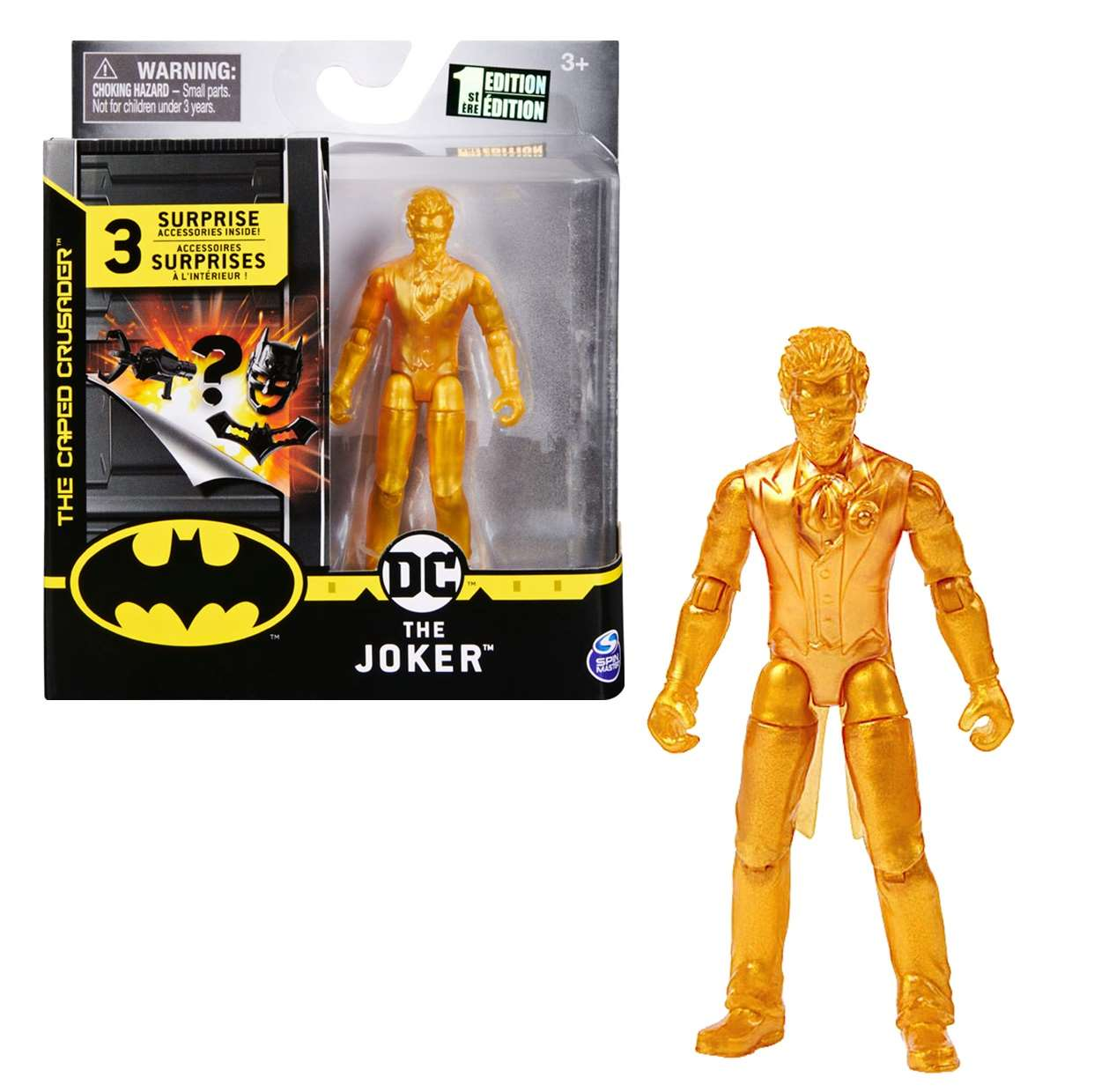 The Joker Gold Figura The Caped Crusader Spin Master