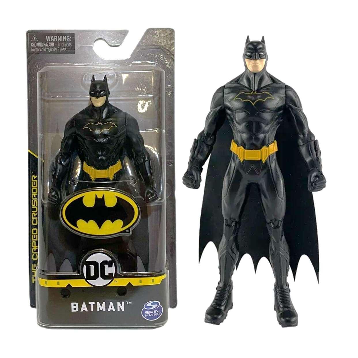 Batman Figura Dc The Caped Crusader Spin Master 5.5 Pulgadas