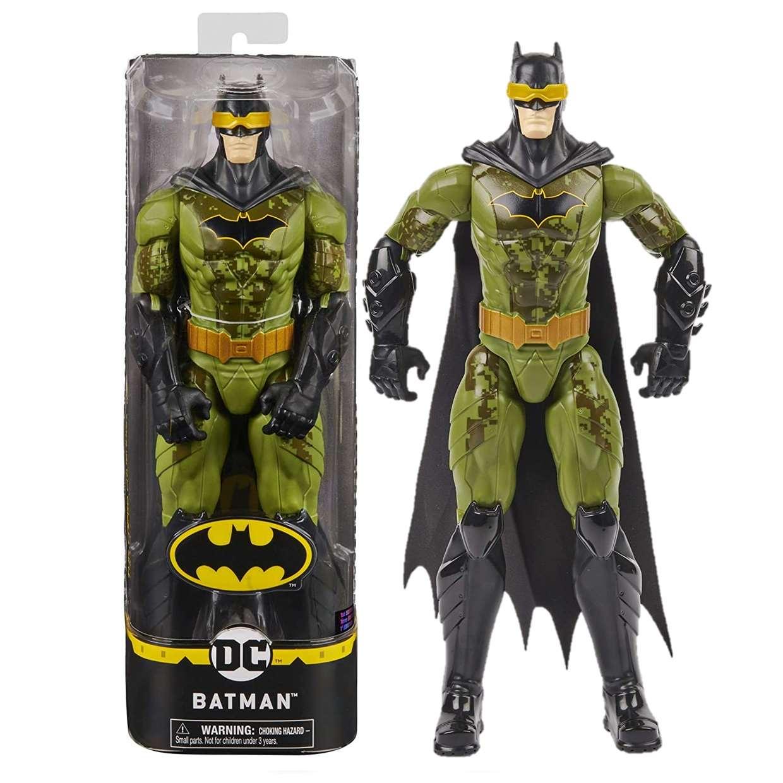 Batman 1st Edition Green Toxic The Caped Crusader Spinmaster