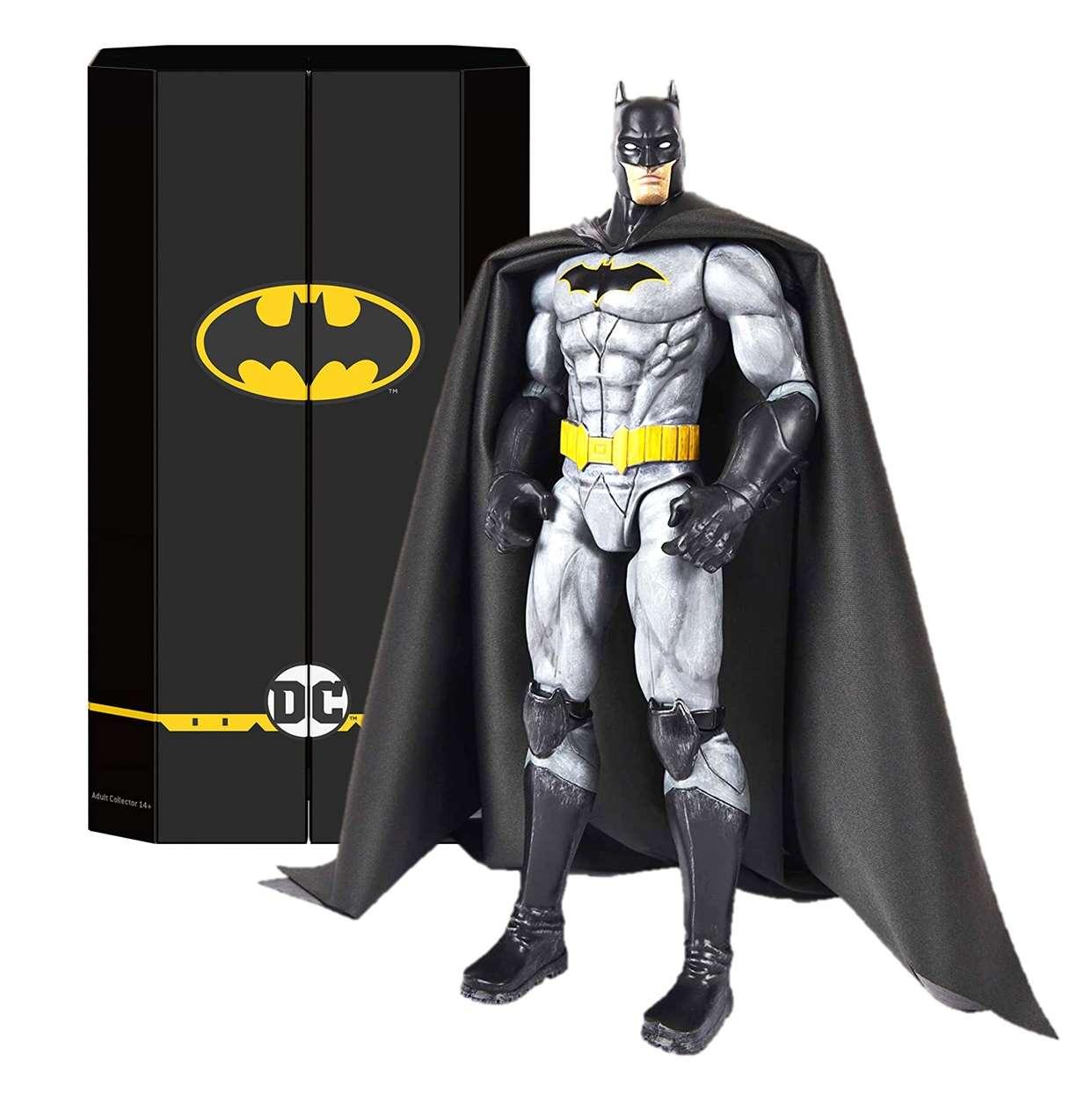 Batman Deluxe Capa De Tela Exclusiva Spin Master 12 PuLG