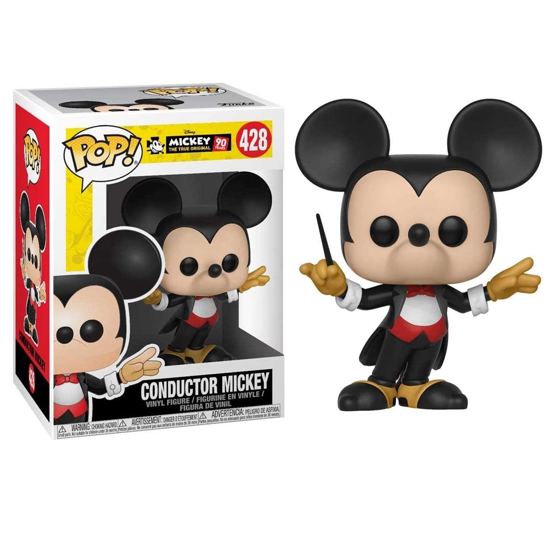 Conductor Mickey #428 Figura Mickey 90th Years Funko Pop!