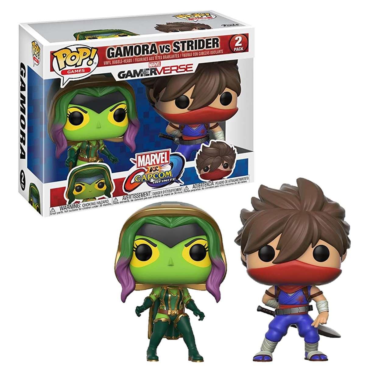 Gamora Vs Strider Pack 2 Figura Gamerverse Funko Pop!