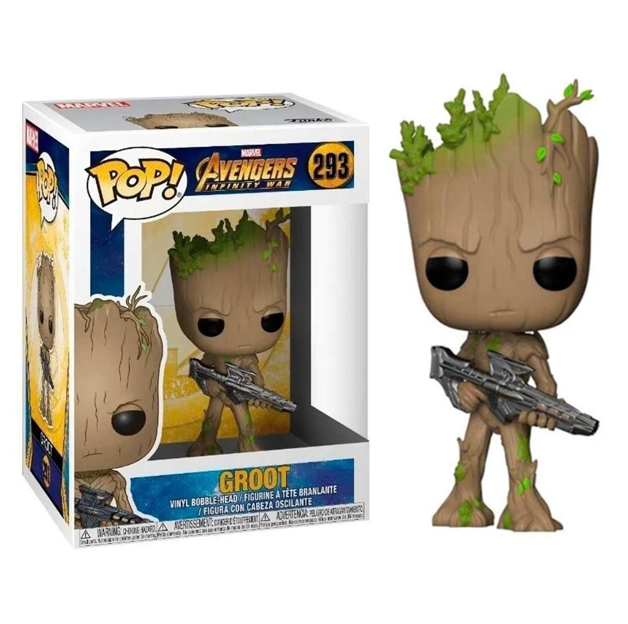 Groot #293 Figura Avengers Infinity War Funko Pop!