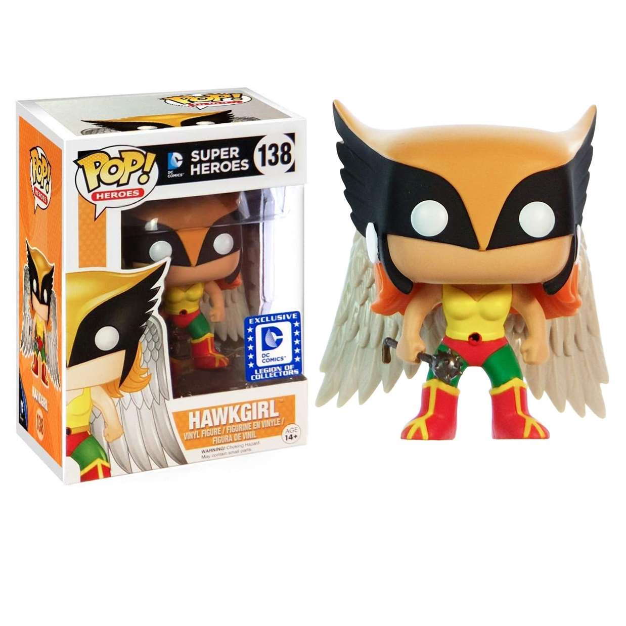 Hawkgirl #138 Exclusivo Legion Of Collectors Funko Pop!