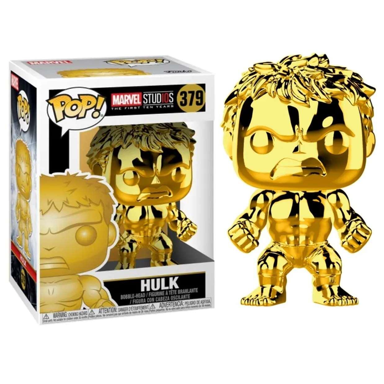 Hulk #379 Gold Chrome Funko Pop! Marvel Studio's 10th