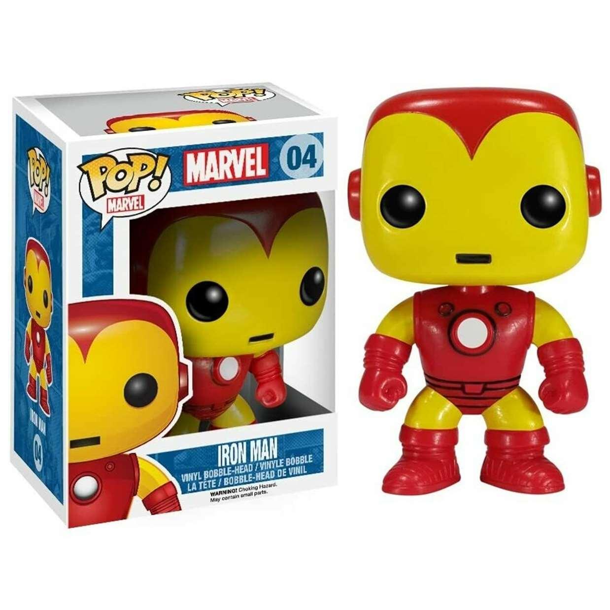 Iron Man #04 Figura Marvel Funko Pop!