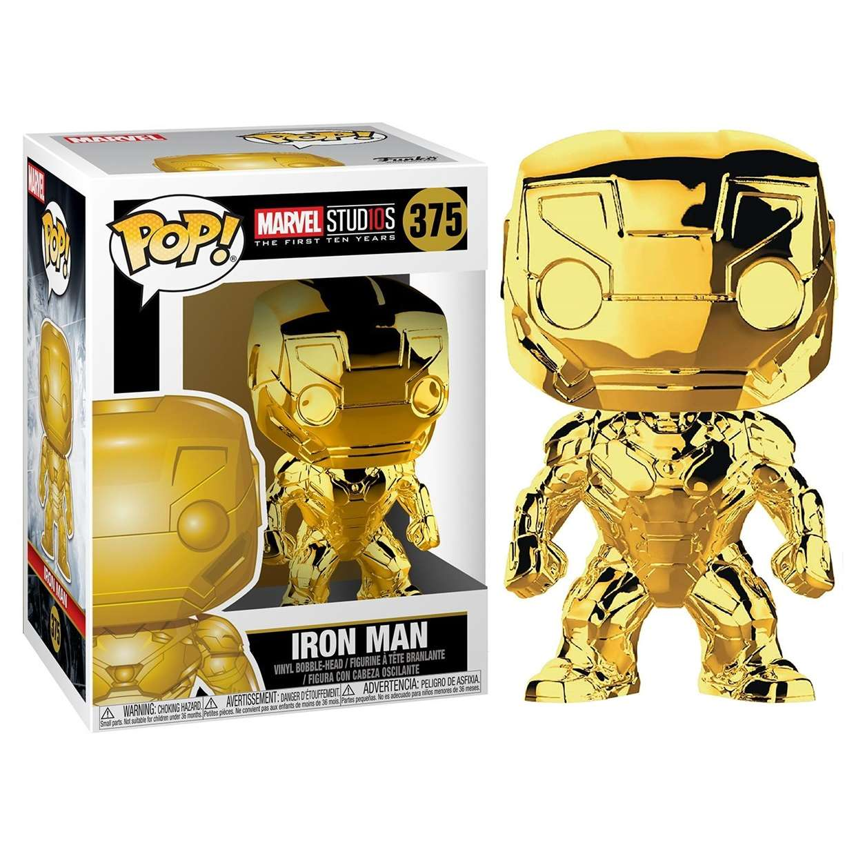 Iron Man #375 Figura Marvel Studios 10th Anniversary