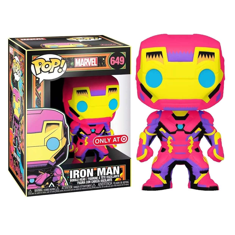 Iron Man #649 Figura Marvel Funko Pop! Exclusivo Only Target