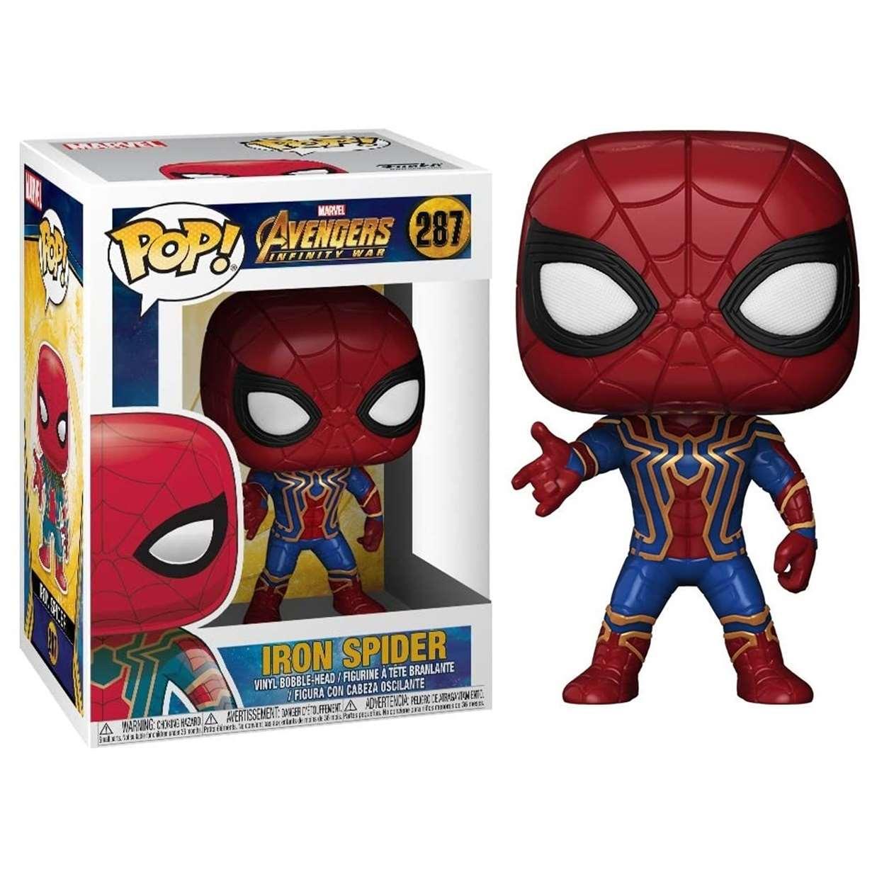 Iron Spider #287 Figura Avengers Infinity War Funko Pop!