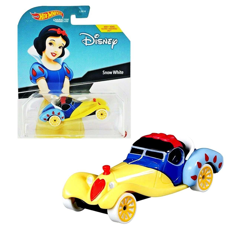 Snow White (Blanca Nieves) Hot Wheels Disney Character Cars