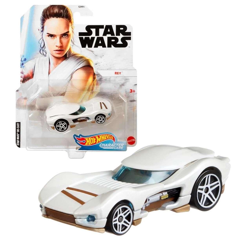 Rey Gjh91 Hot Wheels Star Wars Die Cast Character Cars