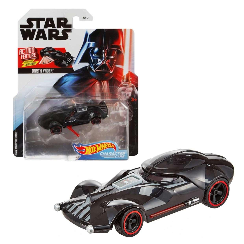Darth Vader Hot Wheels Star Wars Disney Character Cars