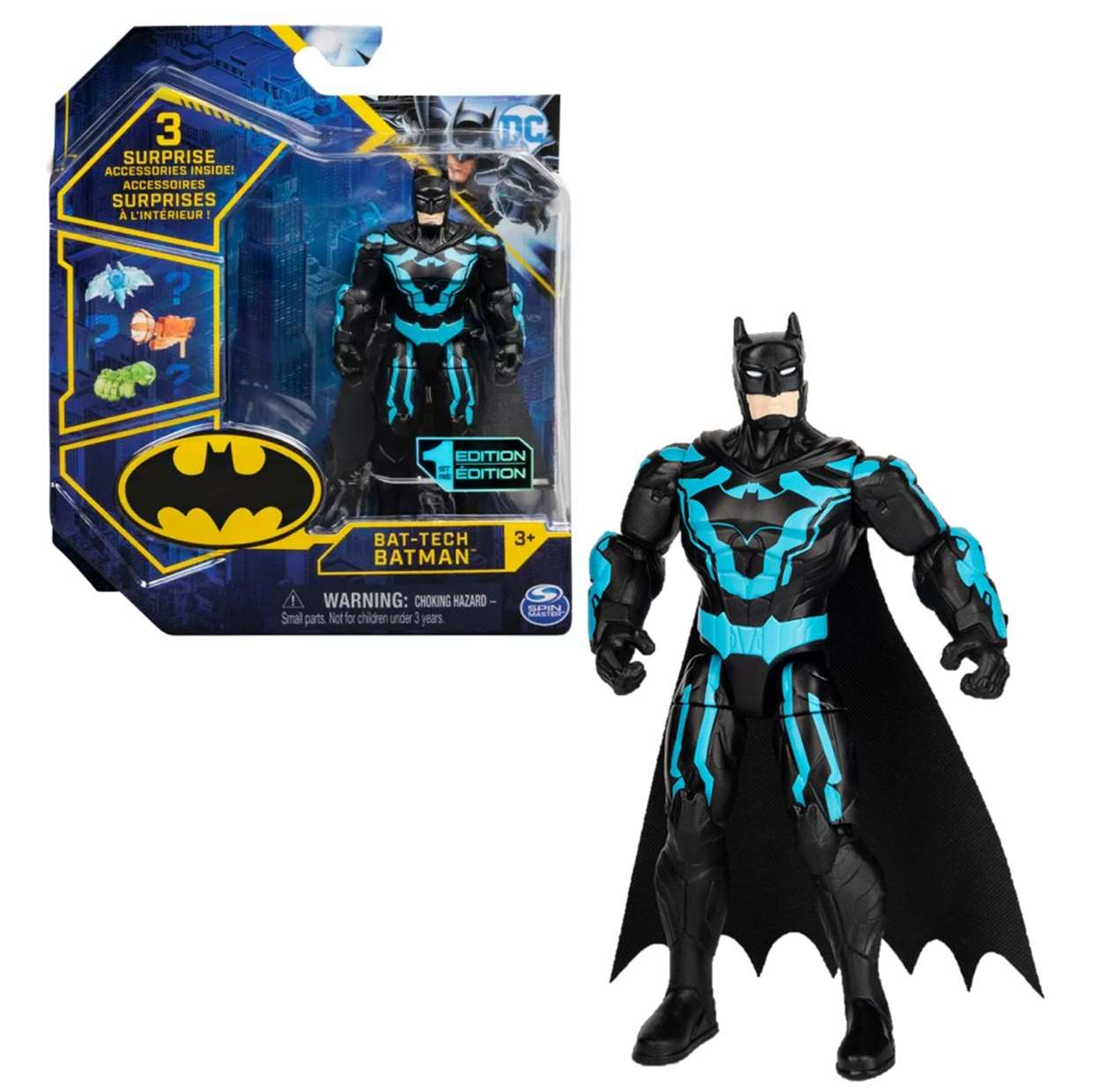 Batman Bat Tech 1era Edition Figura Dc Comics Spin Master