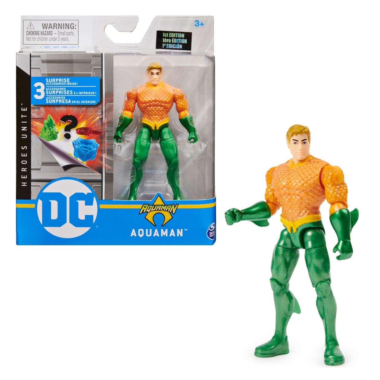 Aquaman 1st Edition Figura Dc Heroes Unite Spin Master