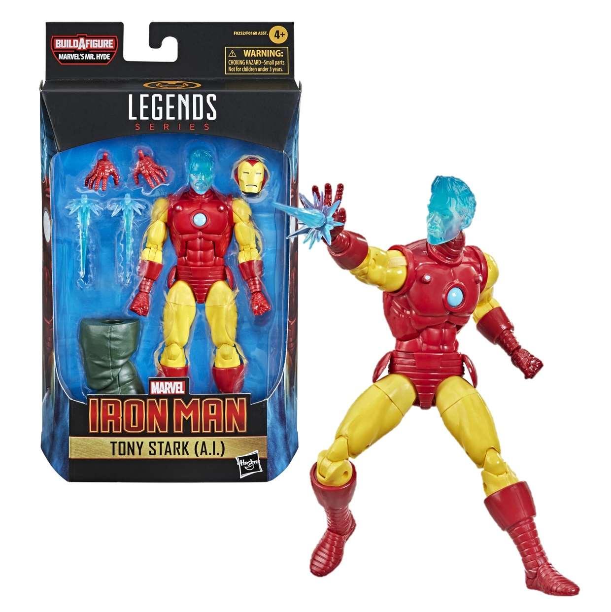 Iron Man Tony Stark ( A.l. ) Figura B A F Mr Hyde Legends