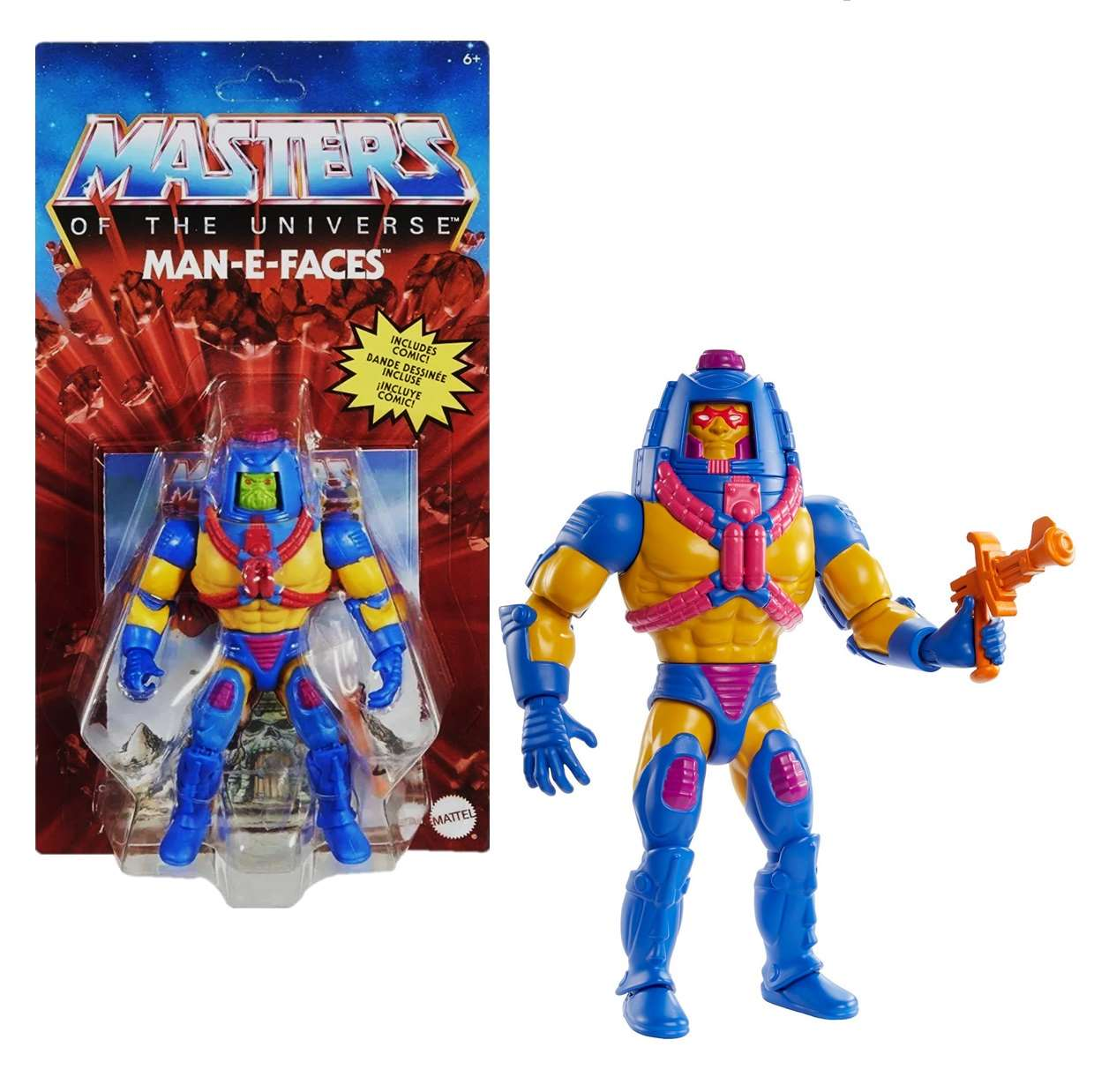 Man E Faces Reto Play Masters Of The Universe New For 20