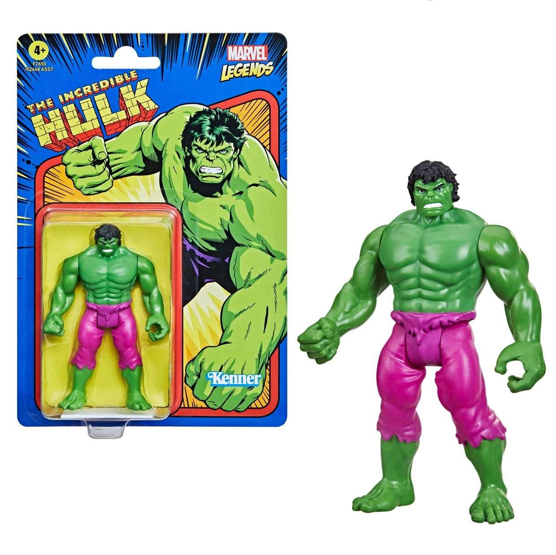 The Incredible Hulk Vintage Figura Marvel Kenner 3 PuLG