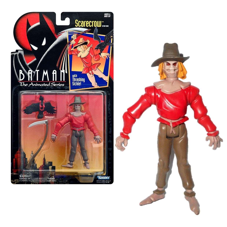 Scarecrow Retro Figura Batman The Animated Series Kenner