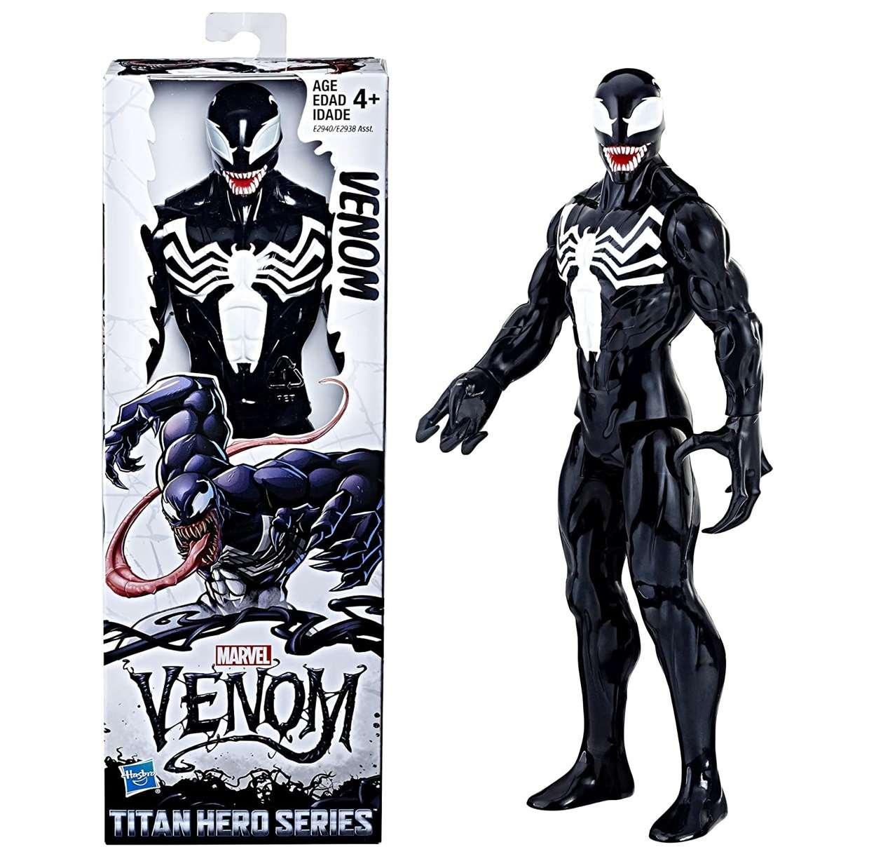 Venom Figura Marvel Venom Titan Hero Series Hasbro 12 Pulg