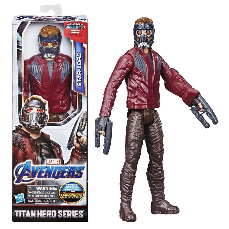 Star Lord Figura Marvel Avengers Power F X Titan Hero Series
