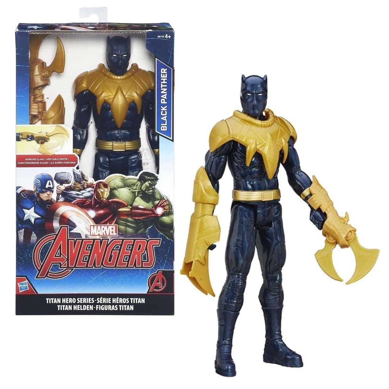 Black Panther Working Claw Figura Avengers Titan Hero Series