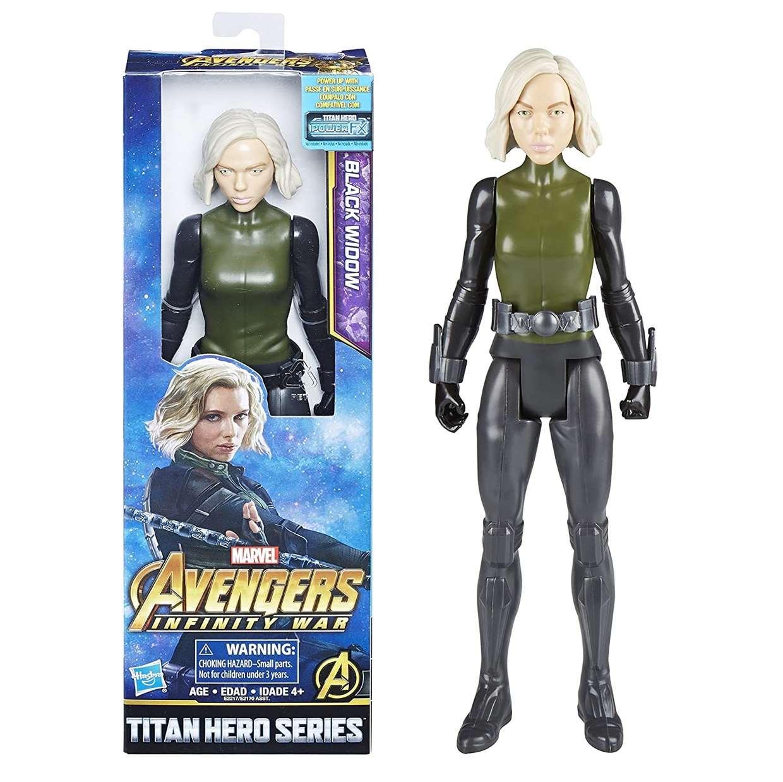 Black Widow Figura Avengers Infinity War Power F X Titan Hero