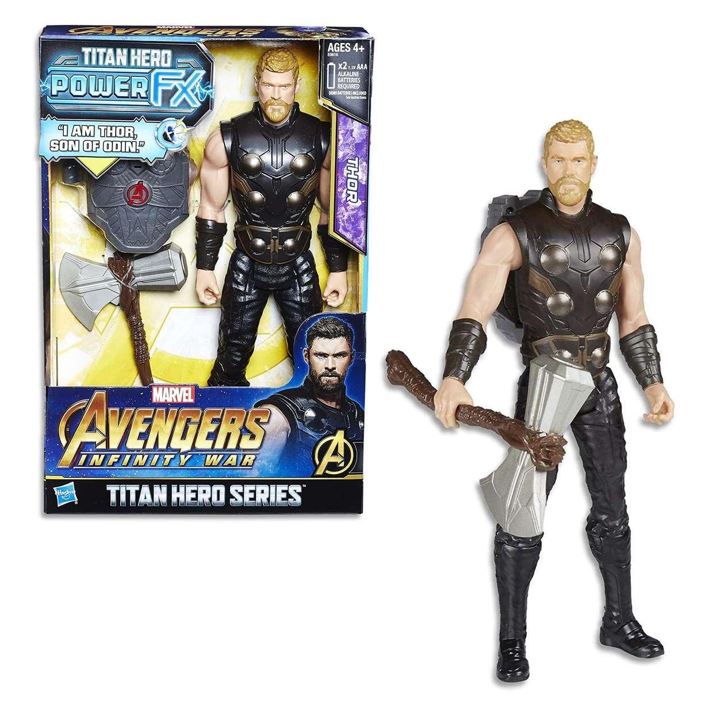 Thor Figura Avengers Infinity War Power FX Titan Heroes 12 Pulg