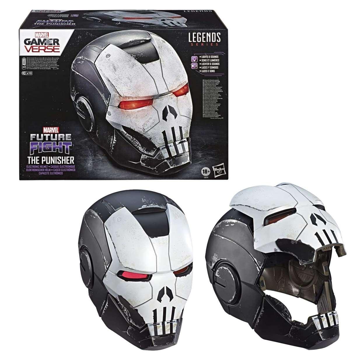 War Machine Punisher Casco Electrónico Marvel Legends