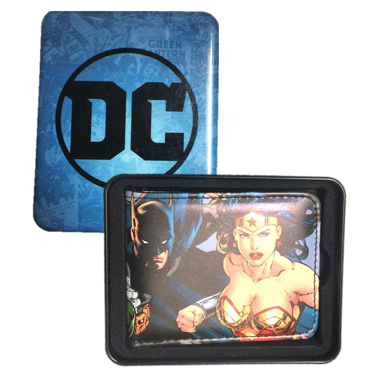 Cartera Vinipiel Ilustración Dc Comics Liga De La Justicia