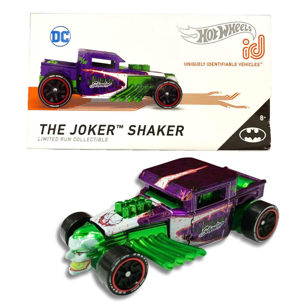 The Joker Shaker Hot Wheels Dc Comics ID