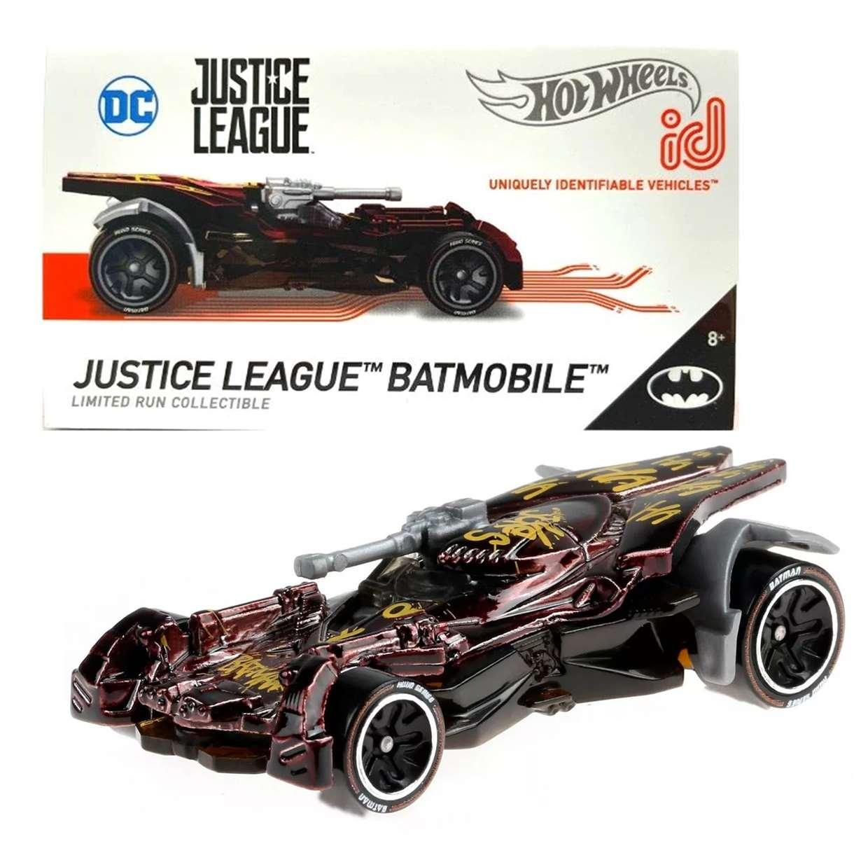 Batmobile Justice League Hot Wheels DC Comics ID