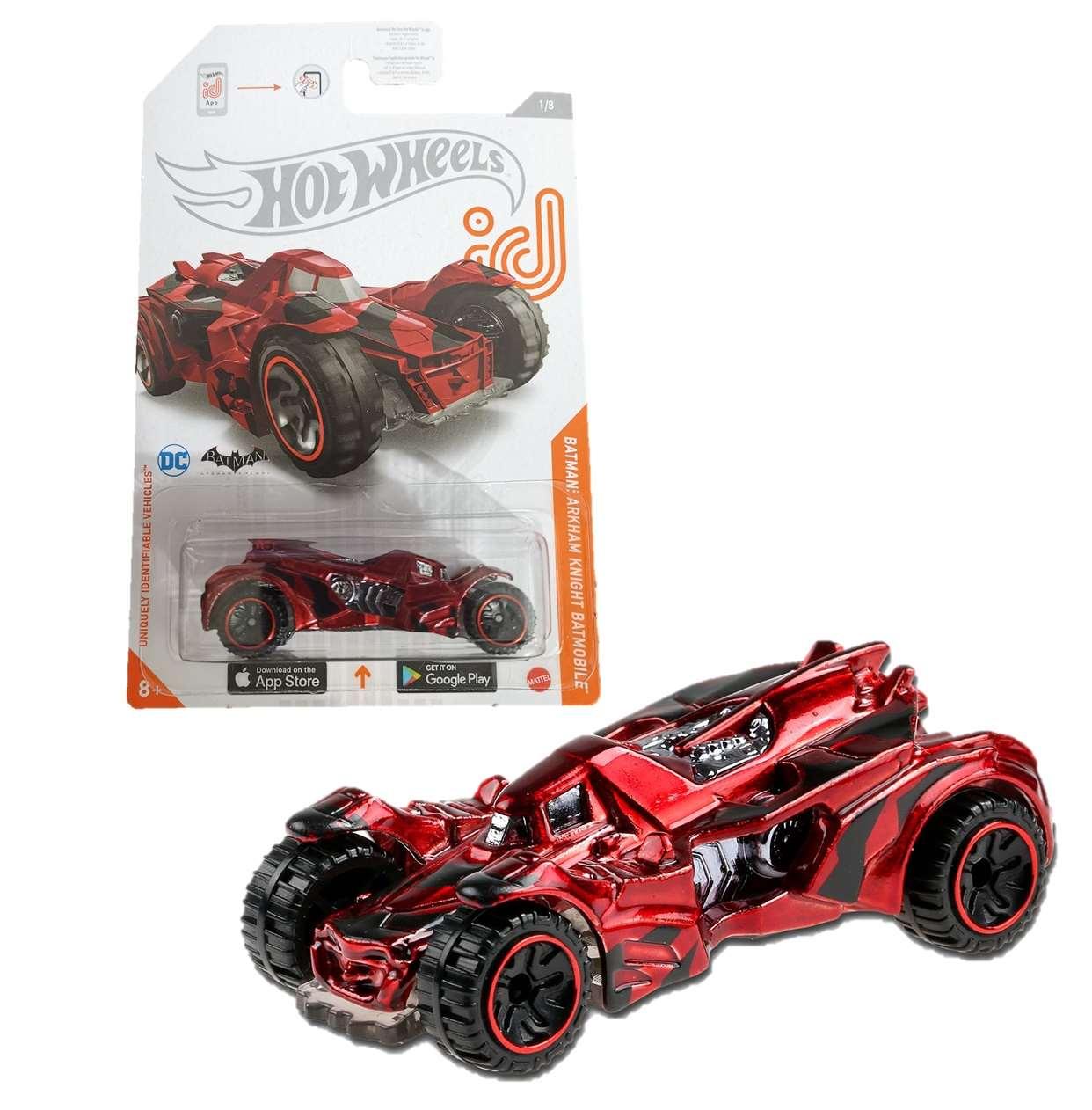 Batman Batmobile Arkham Knight 1/8 Hot Wheels Dc Comics ID