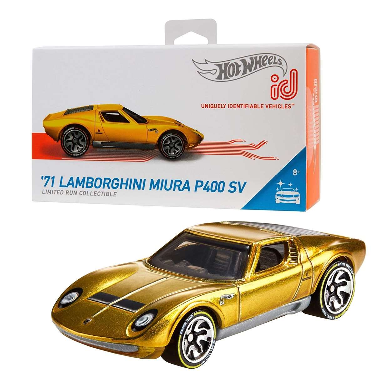 71 Lamborghini Miura P400 Sv Hot Wheels ID