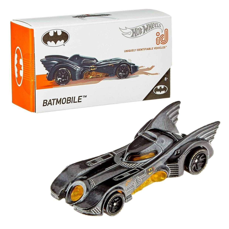 Batman Batmobile 1989 Tim Burton Hot Wheels ID