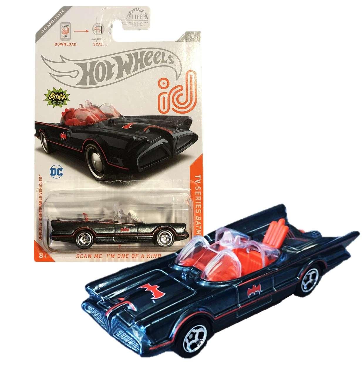 Batmobile Batman Classic Tv Series 6/8 Hot Wheels ID