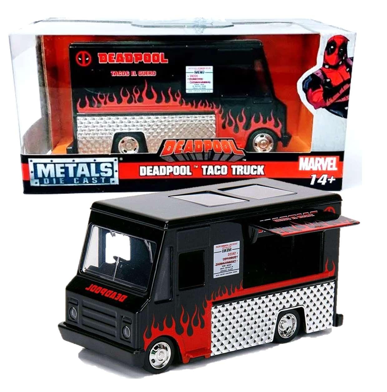 Deadpool Taco Truck Marvel Metal Die Cast Jada Toys