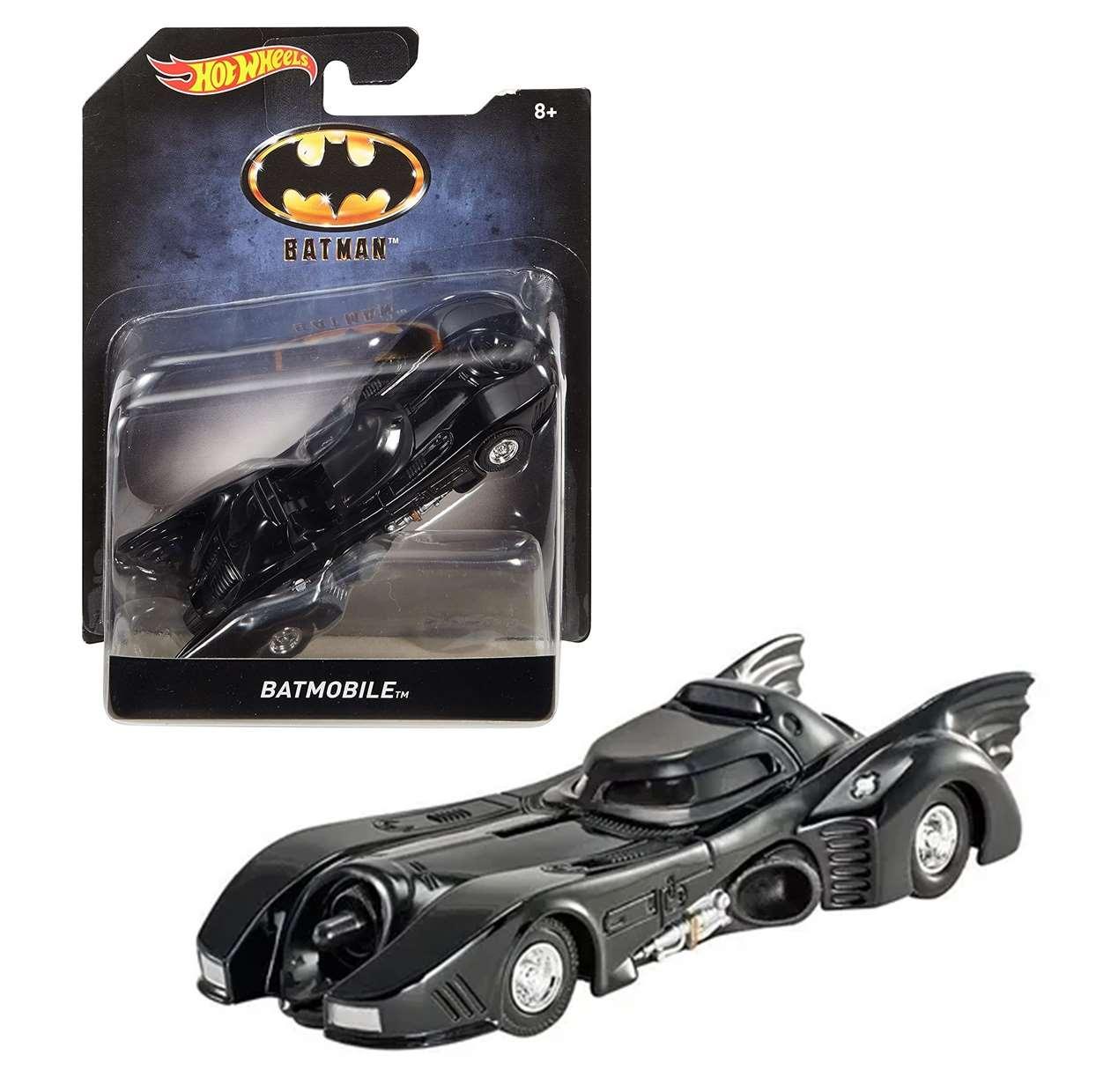 Batmobile Batman 1989 Dkl28 Dc Comics Hot Wheels