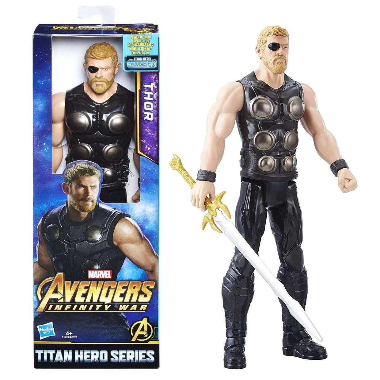 Thor Avengers Infinity War Figura Titan Hero Series 12 PuLG