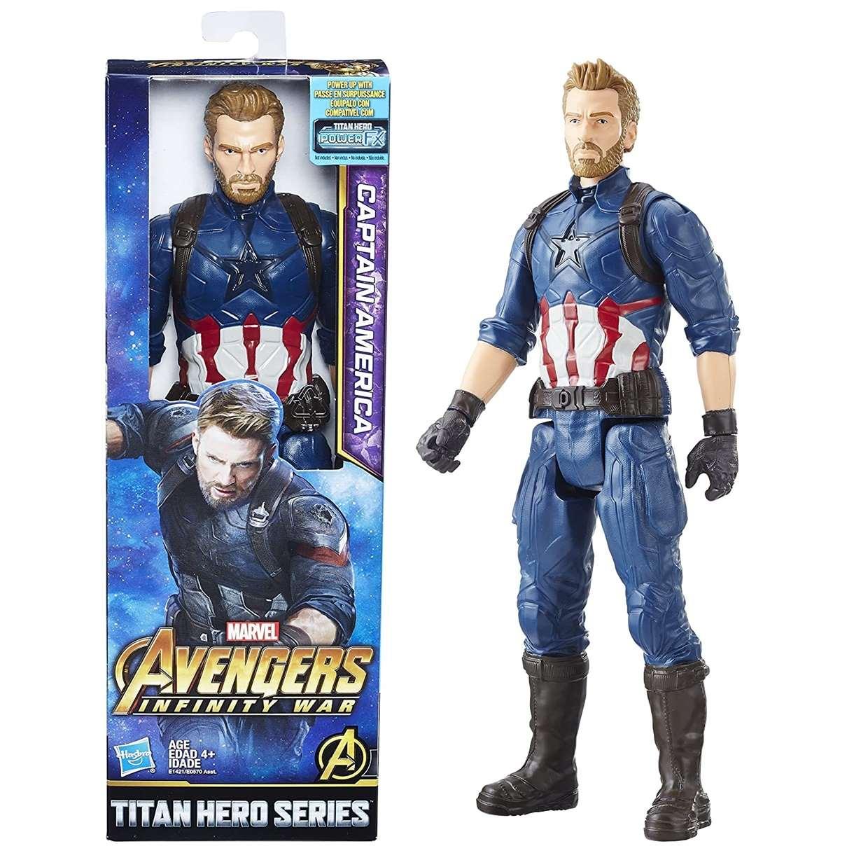 Capitán América Figura Avengers Infinity War  Titan Hero 12 PuLG