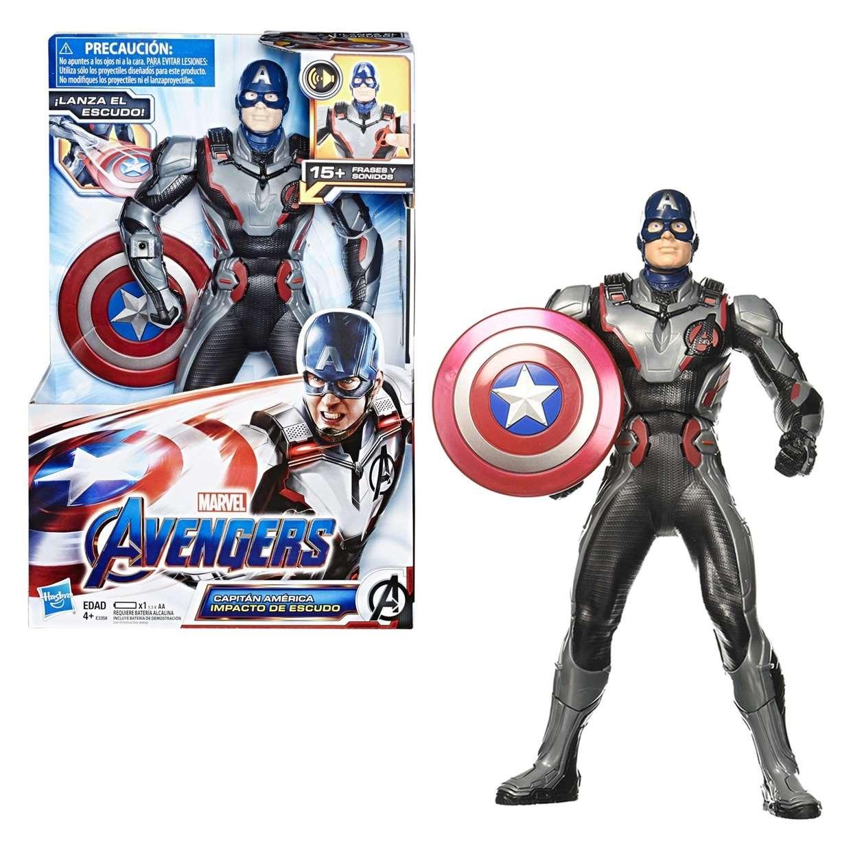 Capitan America Figura Electronica Marvel Avengers Endgame