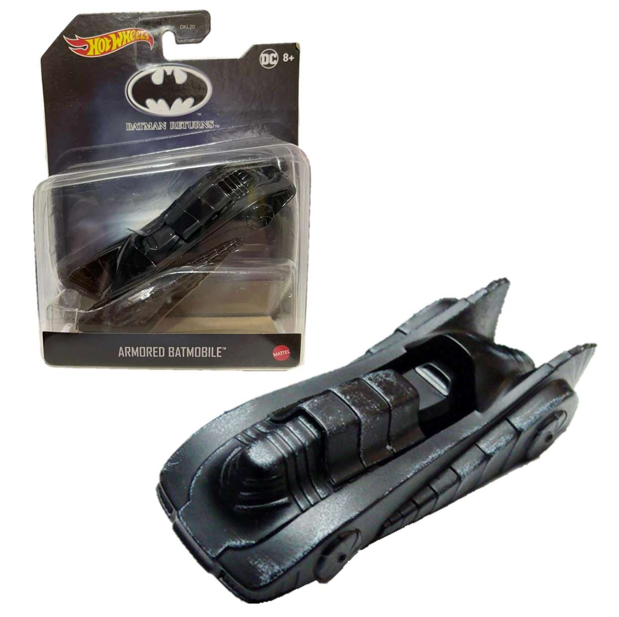 Armored Batmobile Dkl20 Hot Wheels Batman Returns