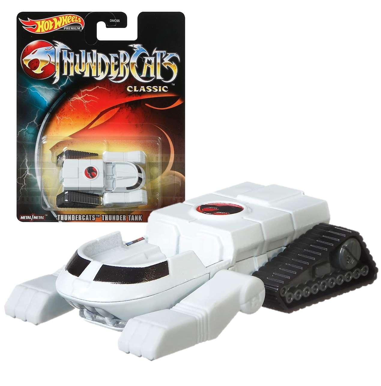 Thunder Tank Vehículo De Juguete Hot Wheels Thundercats