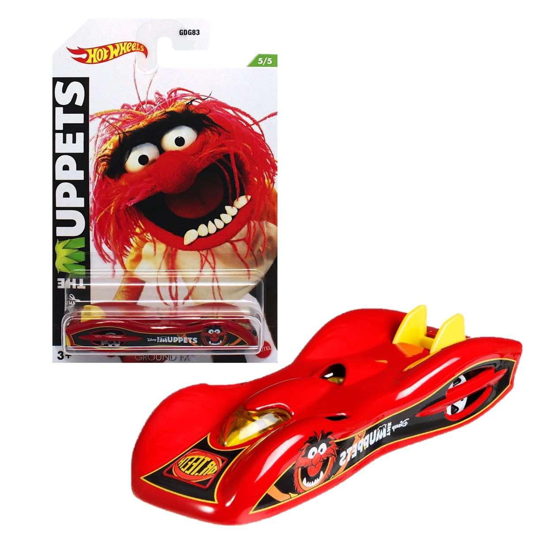 Ground Fx Gdg83 5/5 Hot Wheels The Muppets Disney