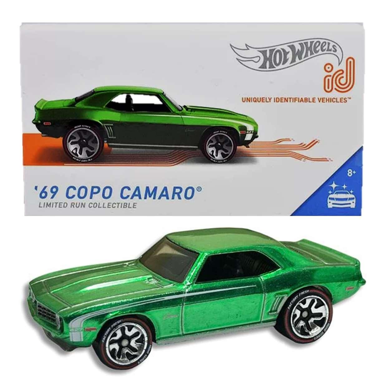 Hot Wheels ID Coche De Juguete 69 Copo Camaro